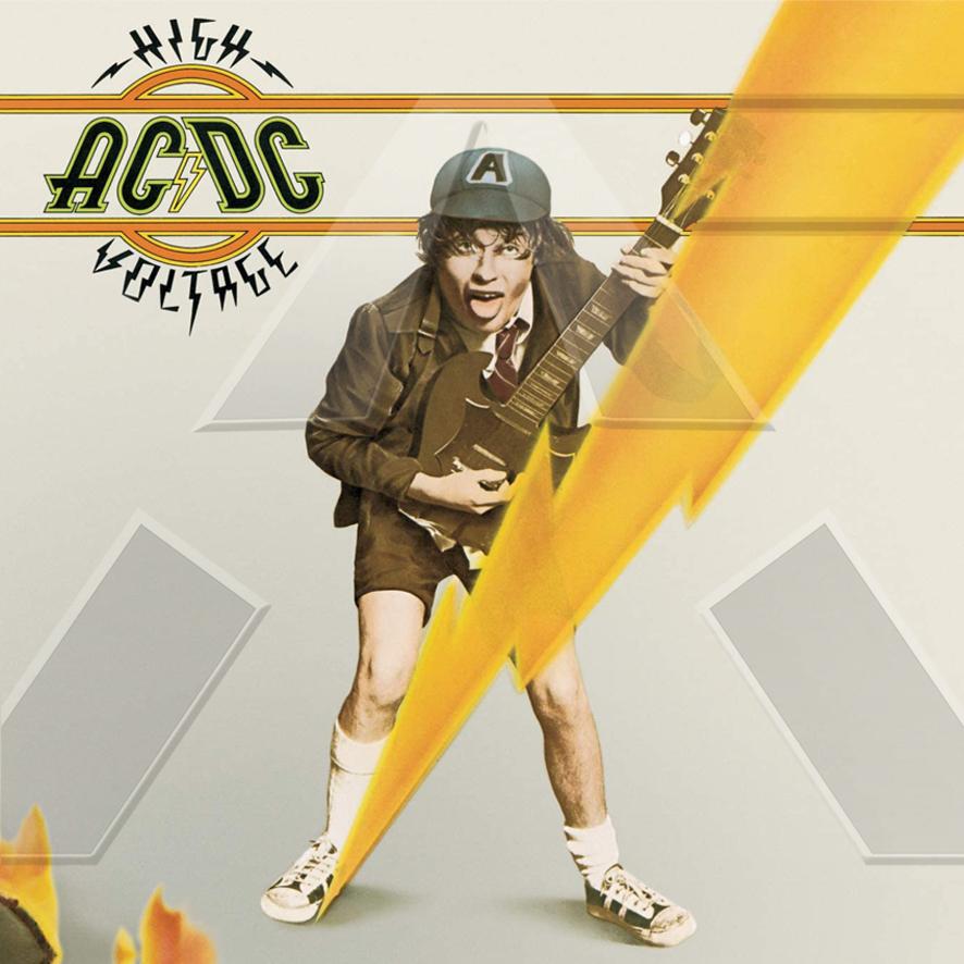 AC/DC ★ High Voltage (vinyl album EU)
