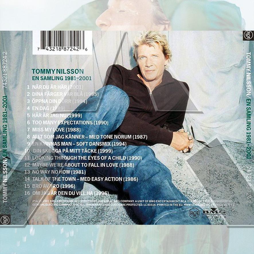 Tommy Nilsson ★ En Samling 1981-2001 (cd album - EU 7432188724)