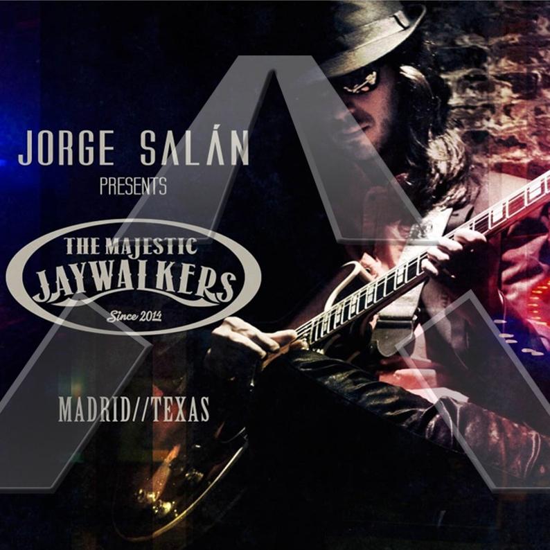 Jorge Salán ★ Madrid/Texas (cd album EU RER017)