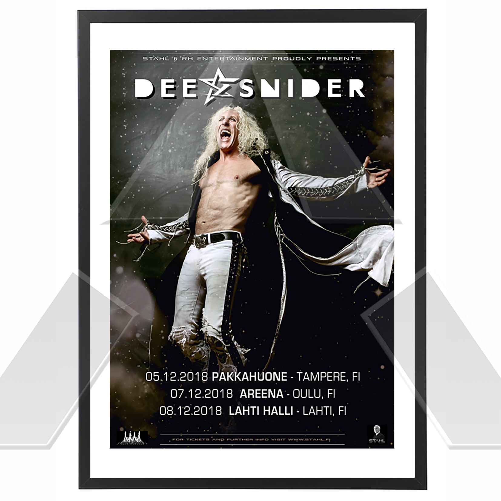 Dee Snider ★ Finland 2018 (tour poster)