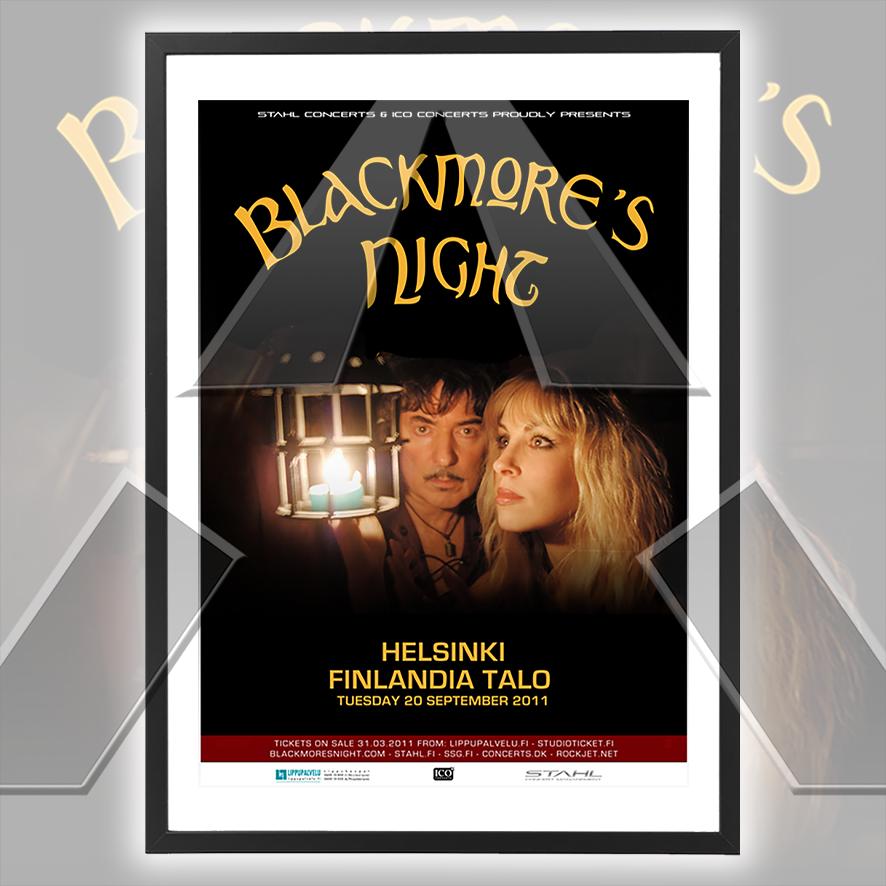 Blackmore´s Night ★ Autumn Sky Tour 2011 (tour poster - 4 versions)