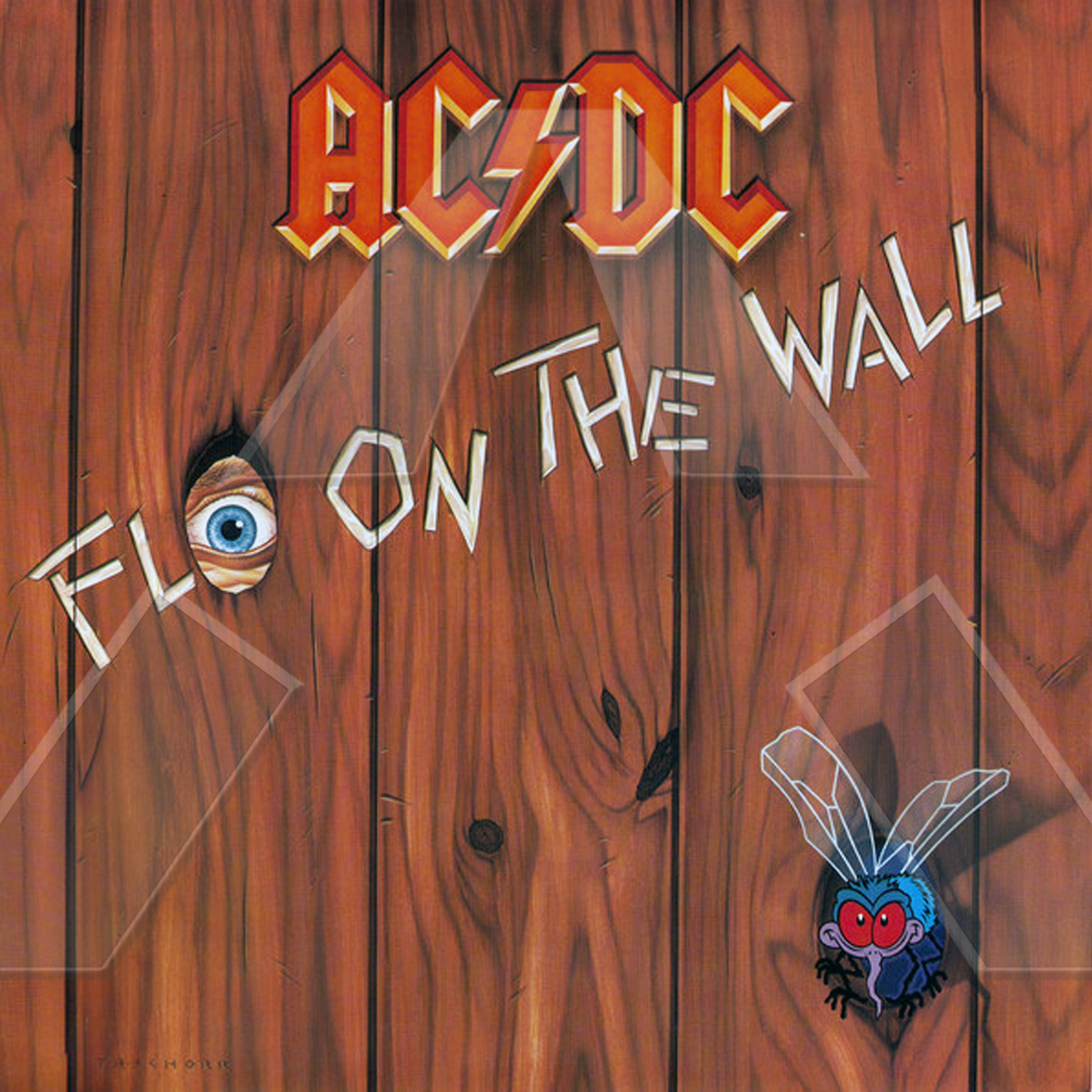 AC/DC ★ Fly on the Wall (vinyl album EU)