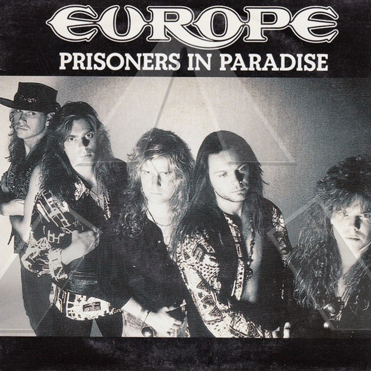 Europe ★ Prisoners in Paradise (vinyl single EU)