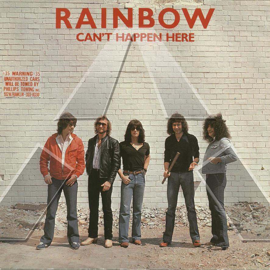 Rainbow ★ Can't Happen Here (vinyl single - UK POSP251)