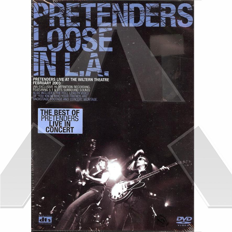 Pretenders ★ Loose in L.A. - Live at the Wiltern Theatre 2003 (dvd EU EREDV331)