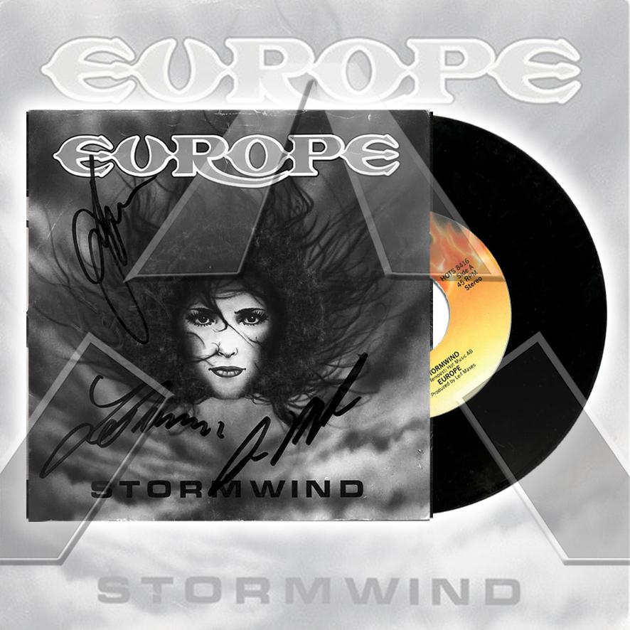 Europe ★ Stormwind (vinyl single - 2 versions)