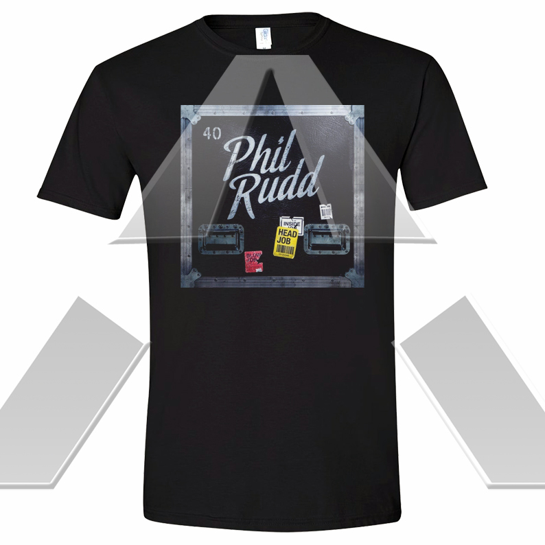 Phil Rudd ★ Head Job  (t-shirt)