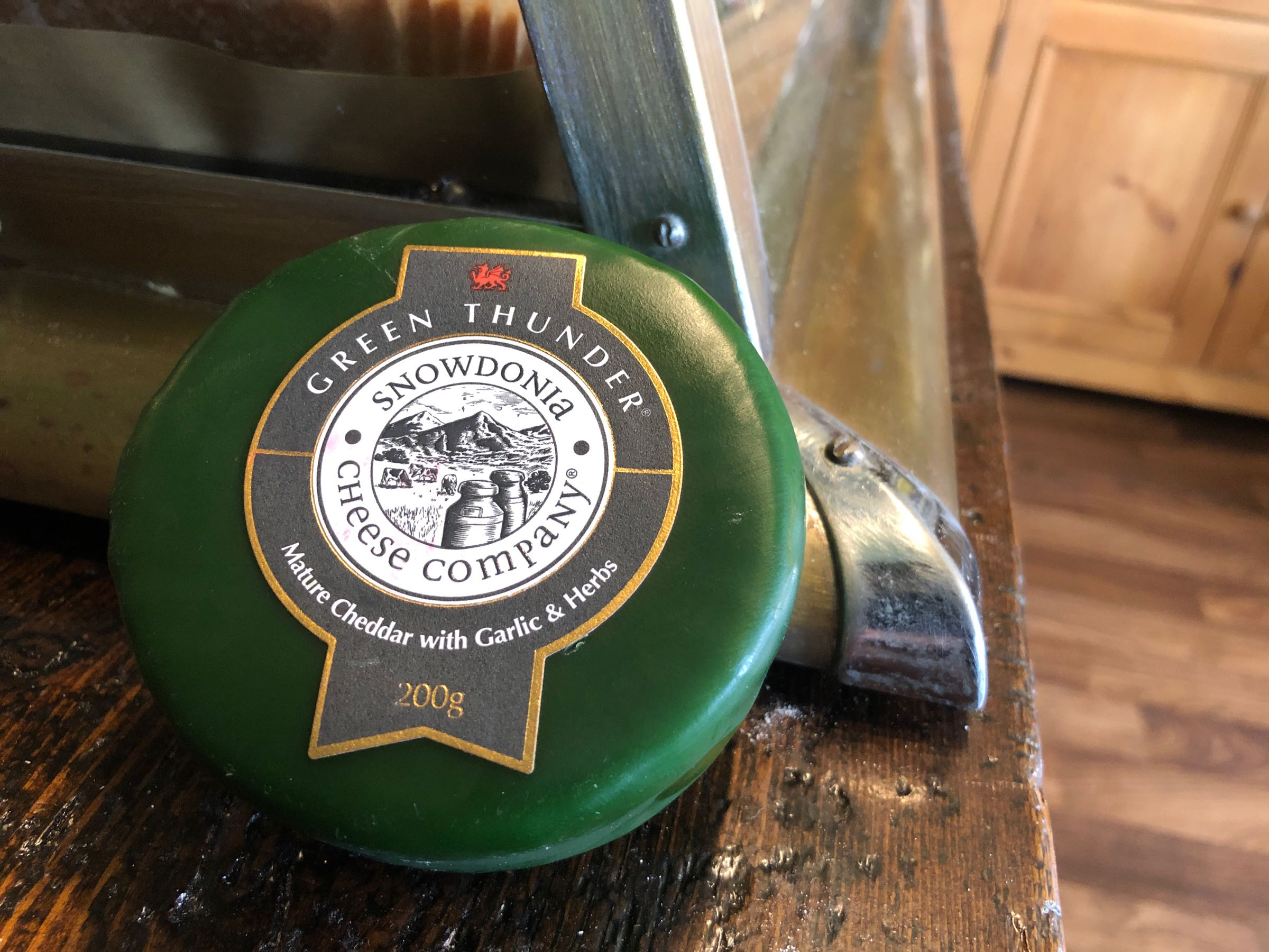 Snowdonia Cheese Co. Green Thunder 200g