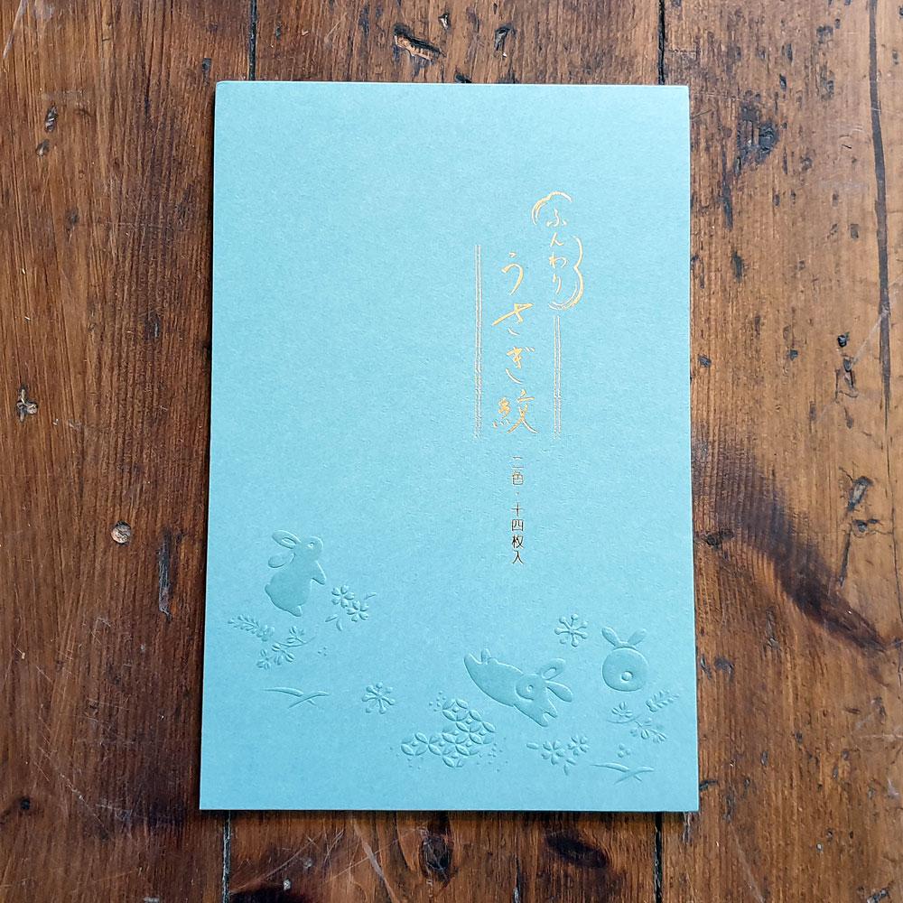 Japanskt brevpapper - Kaniner