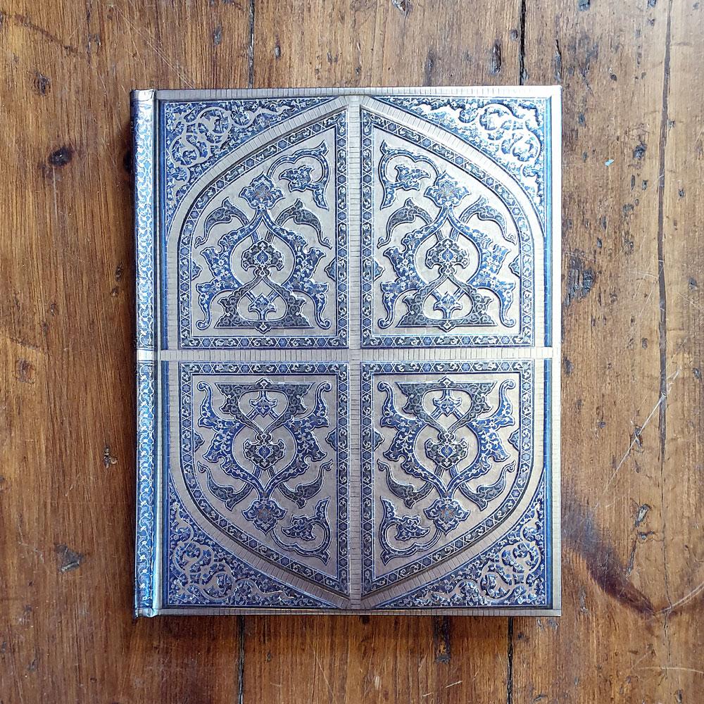 Folierad anteckningsbok - Persian Splendor