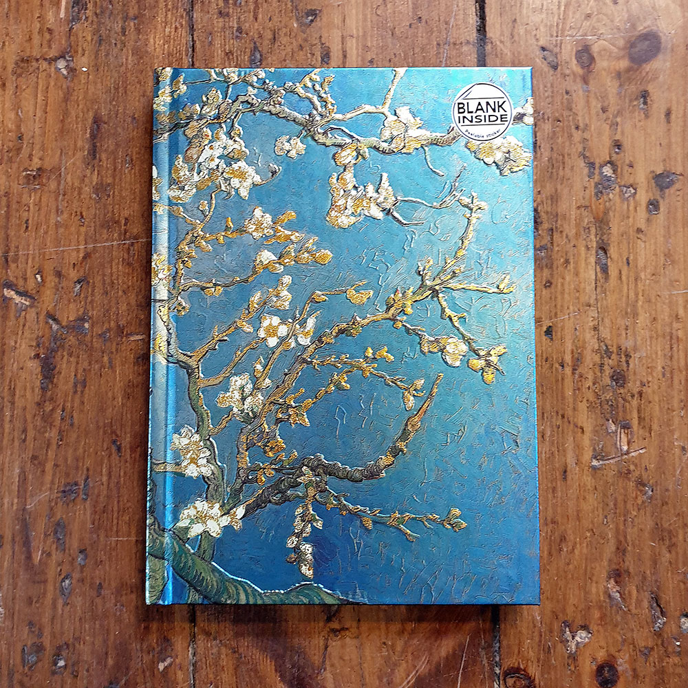Folierad skissbok - Almond Blossom