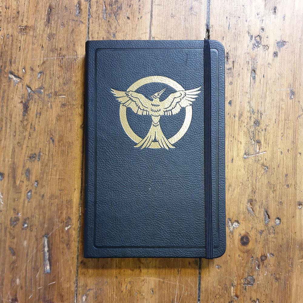 Anteckningsbok - The Hunger Games Mocking Jay