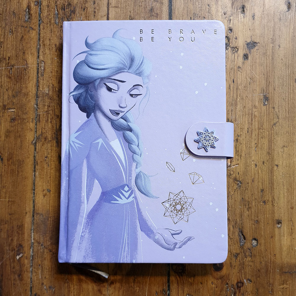 Anteckningsbok - Frozen, Lilac Snow