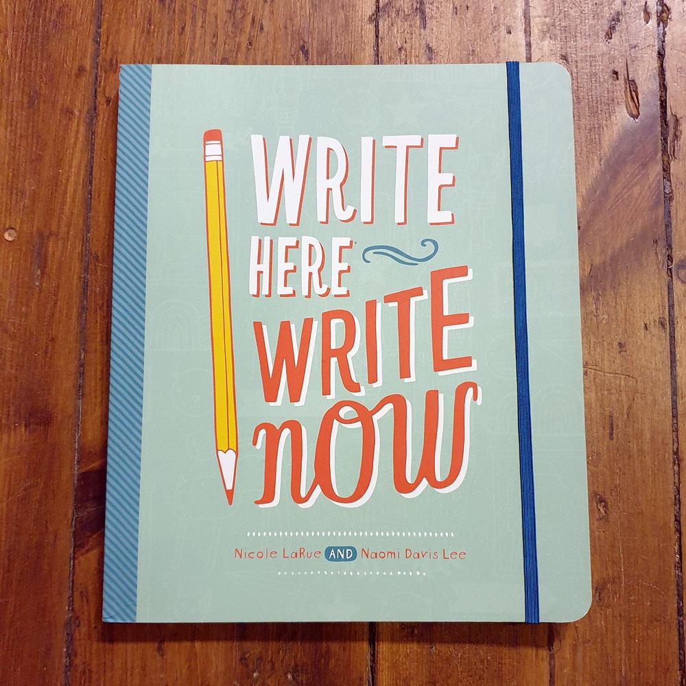 Anteckningsbok - Write here, Write now