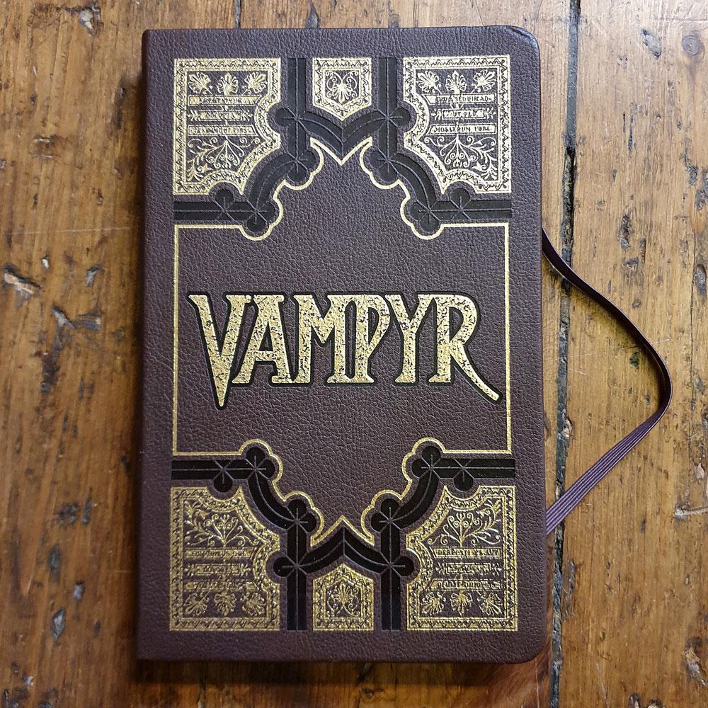 Anteckningsbok - Vampire slayer
