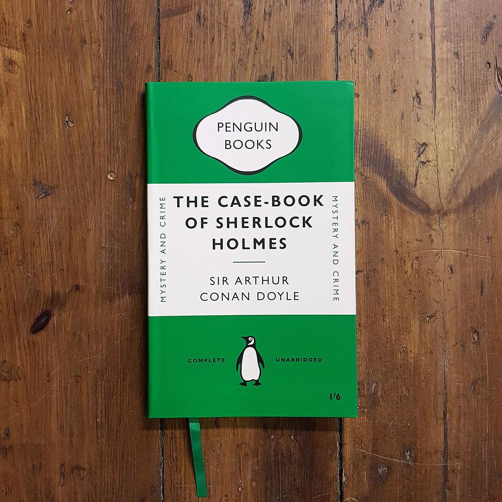 Anteckningsbok - The case-book of Sherlock Holmes
