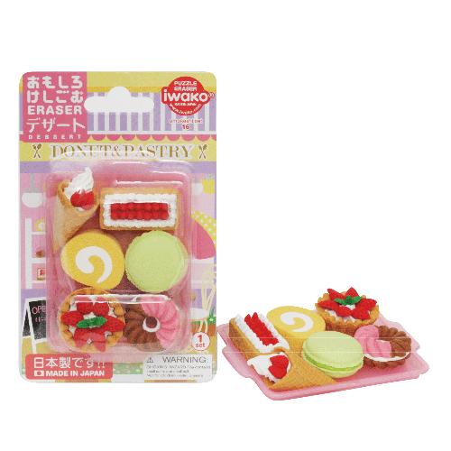 Iwako förpackade suddgummin - Sötsaker