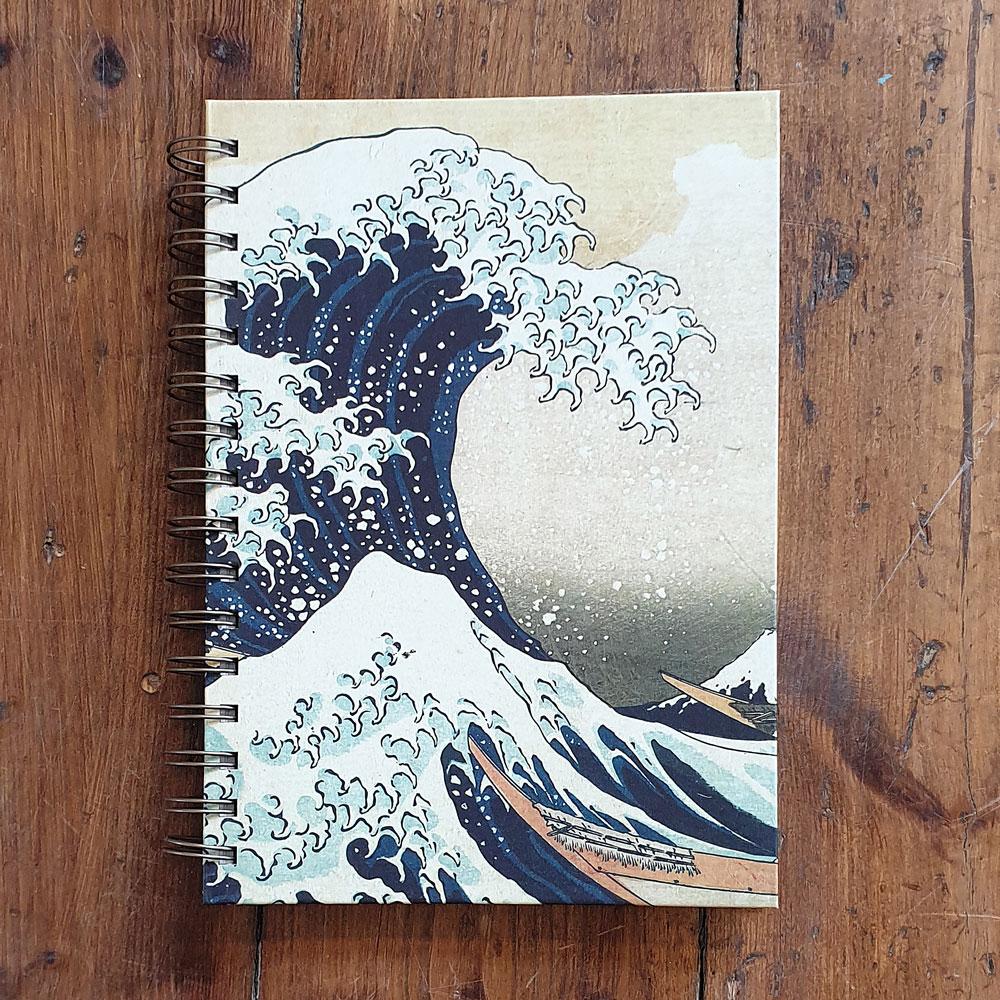 Anteckningsbok - Hokusai Great Wave
