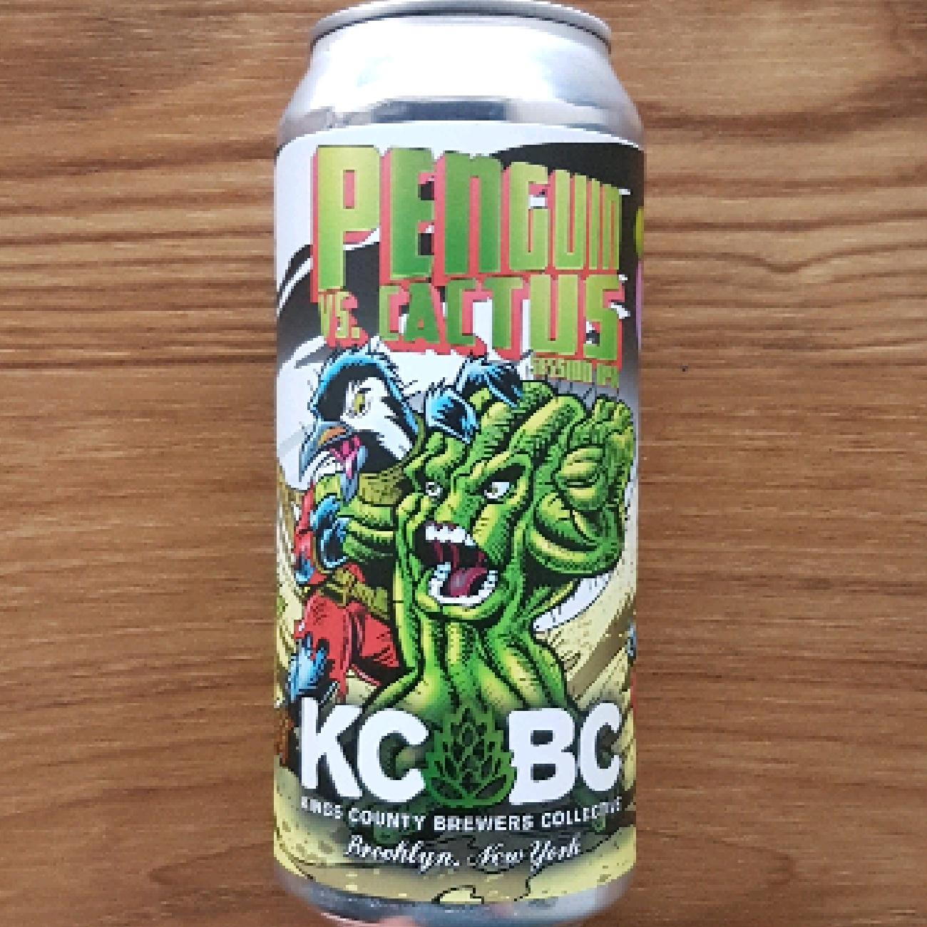 KCBC Penguin vs. Cactus