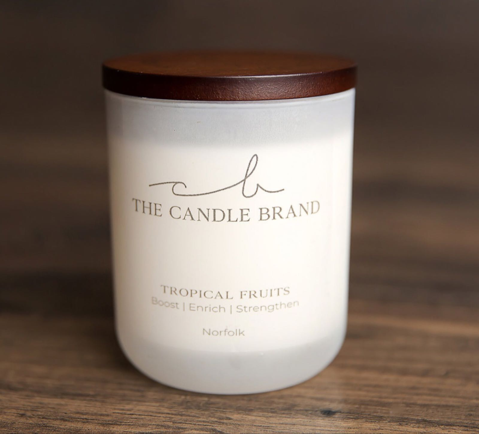 Tropical Fruits Scented Candle - 35hrs