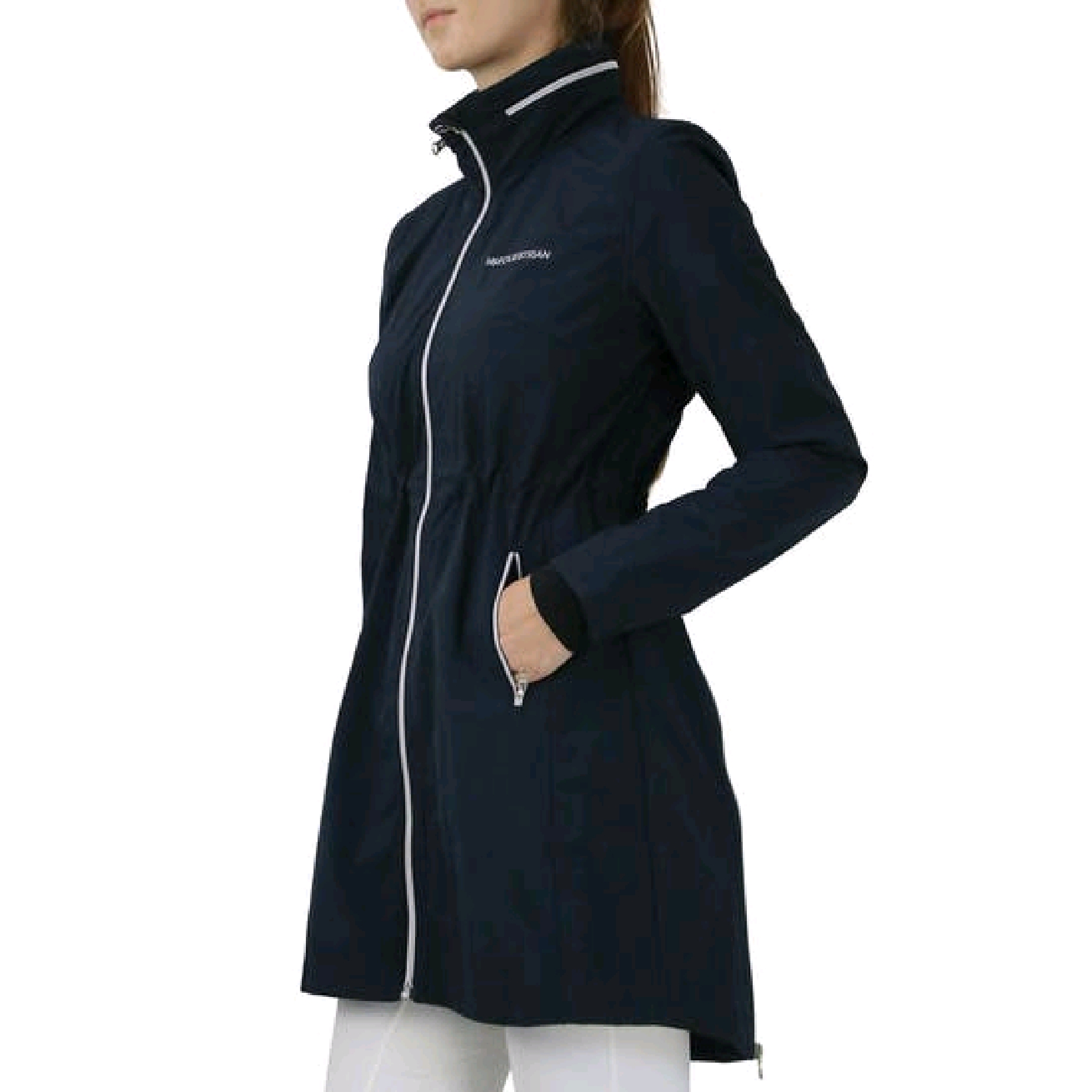 HY Synergy long rain jacket Navy