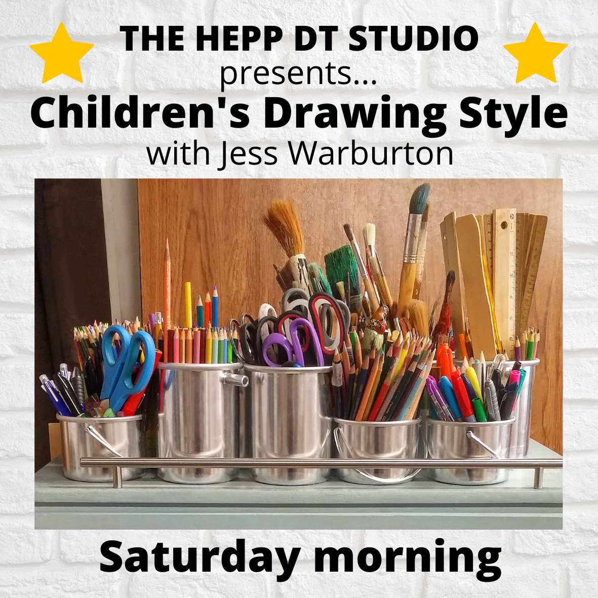 Children's Drawing Style - Saturday morning