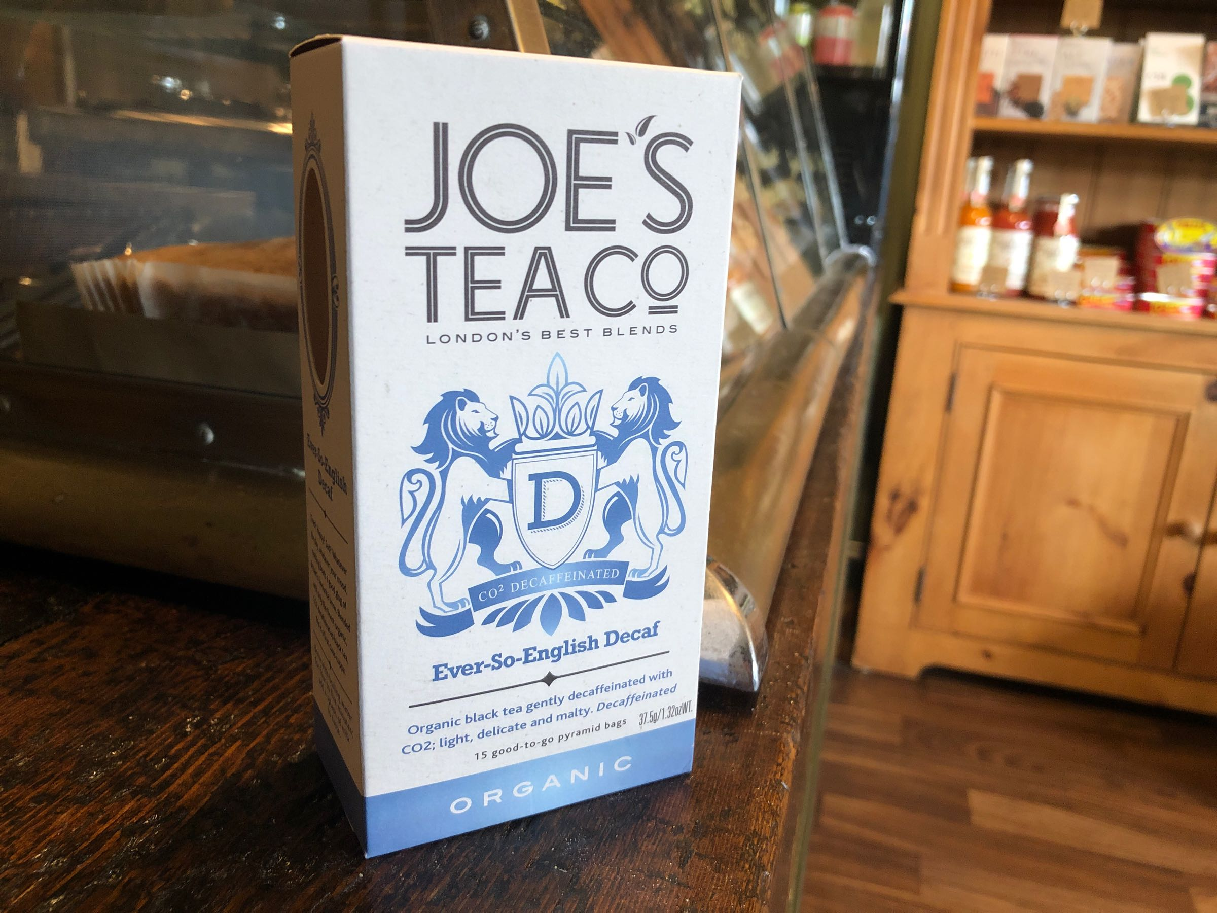 Joe's Tea Co. Ever-So-English Decaf - Organic