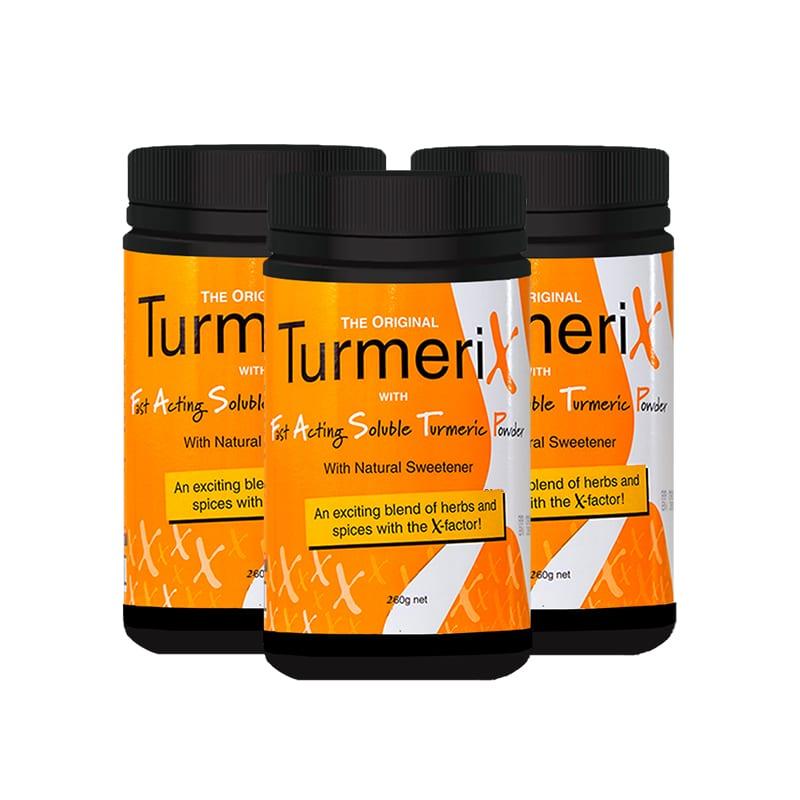 3x Tub Turmerix (260g)