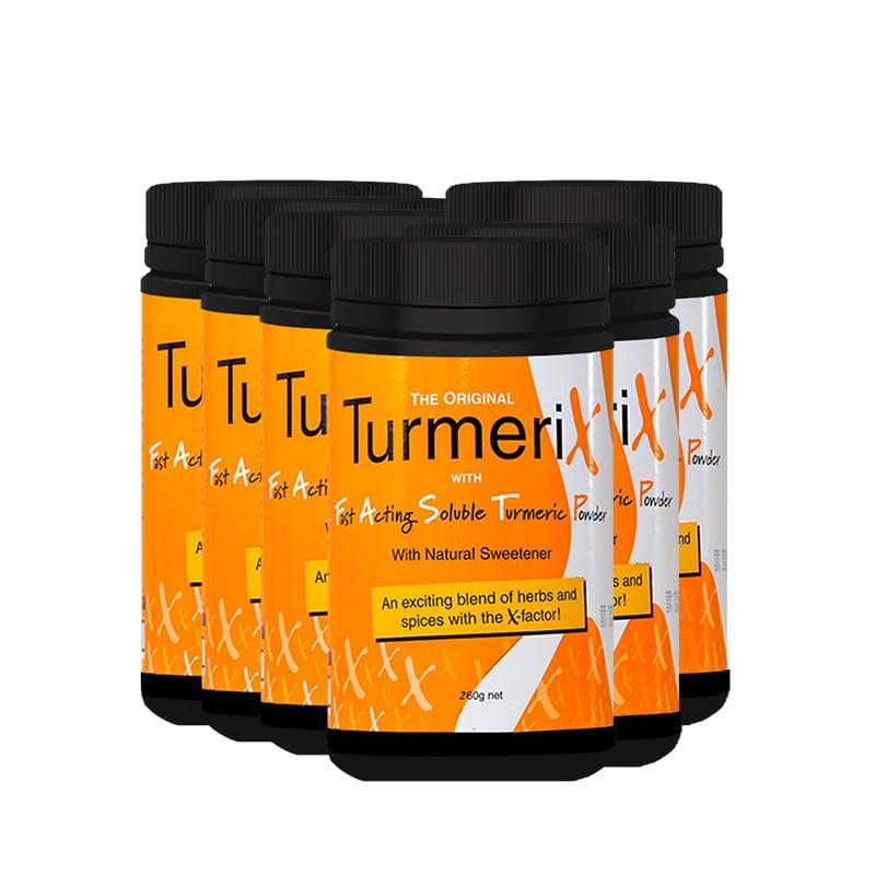 6x Tub Turmerix (260g)