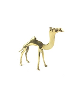 Kamel av Mässing
