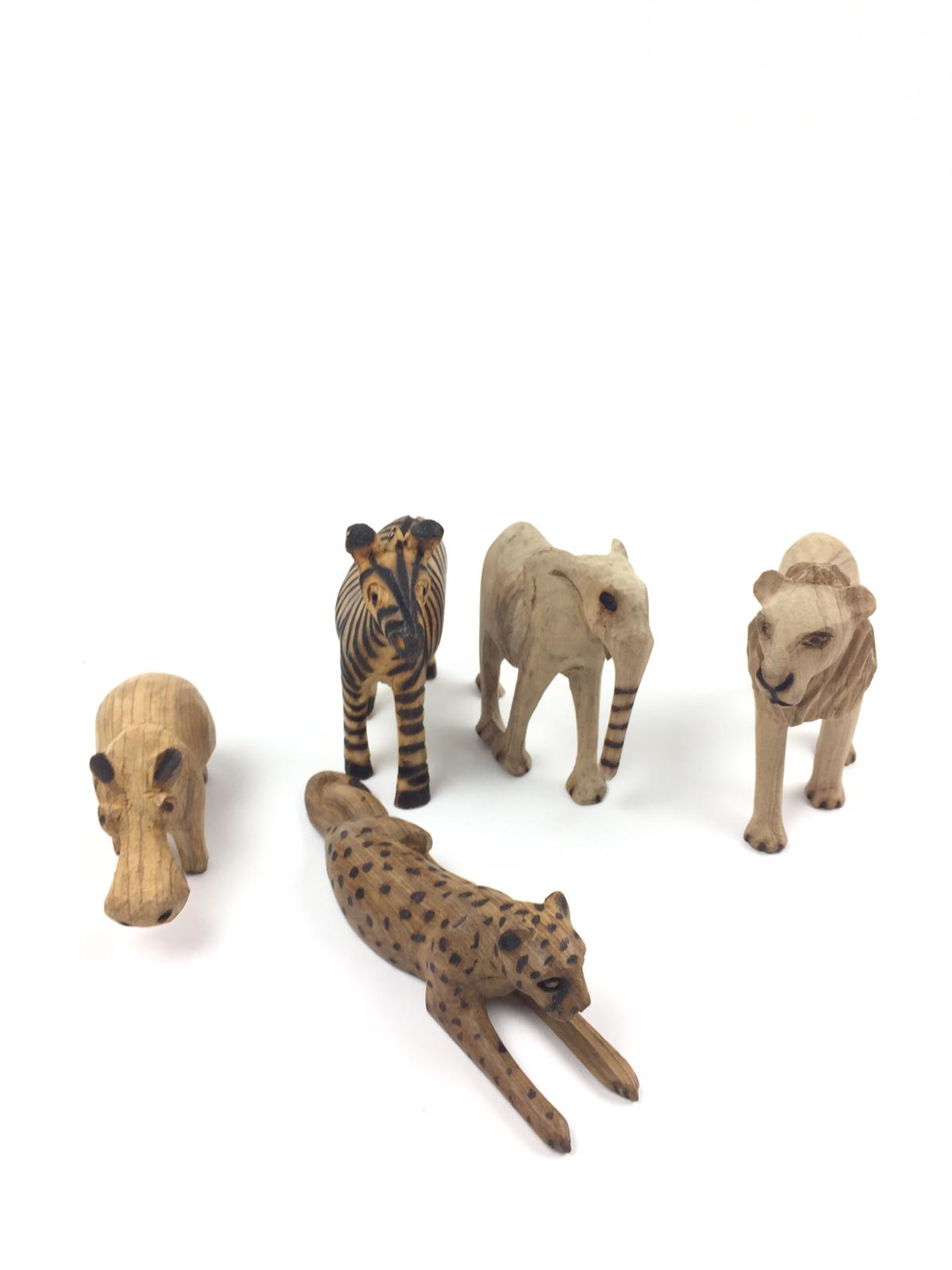 Trädjur av Padoukträ Zimbabwe