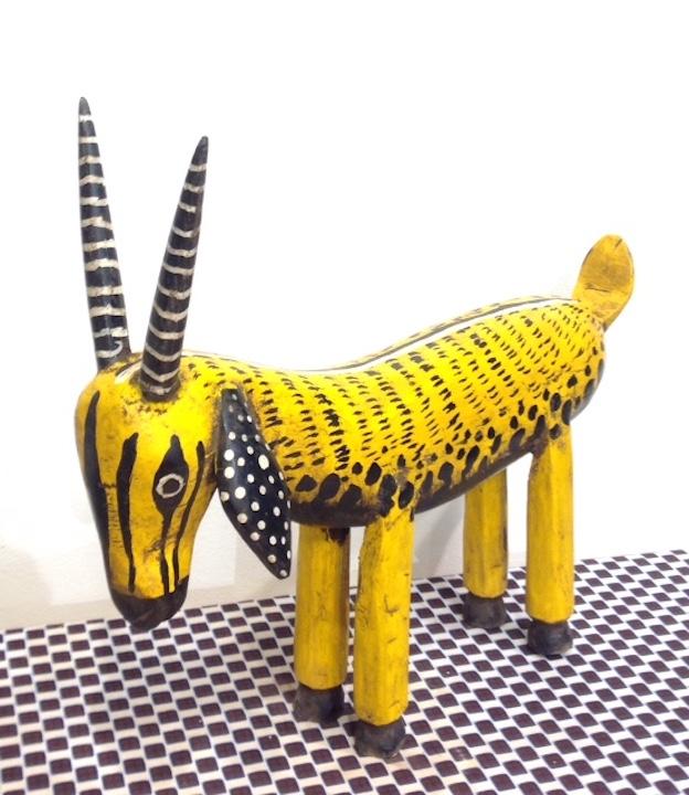 Bambara träskulptur Mali
