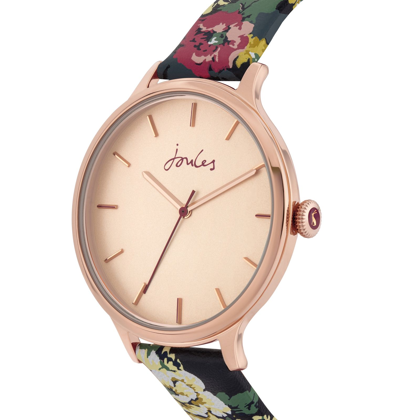 Joules 30th Anniversary Cambridge floral print watch