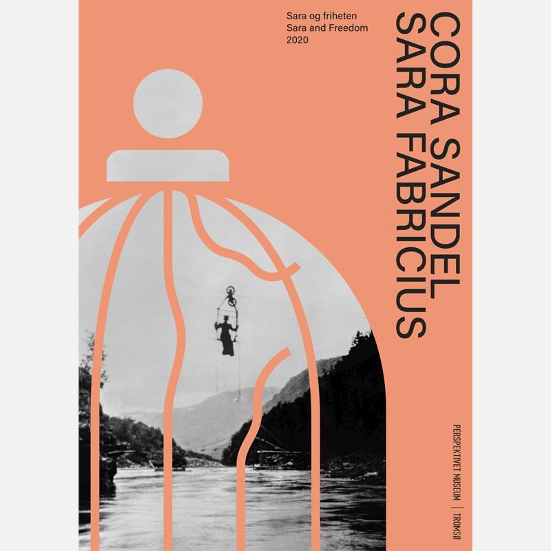 Utstillingsposter Cora Sandel/ Sara Fabricius. 50x70