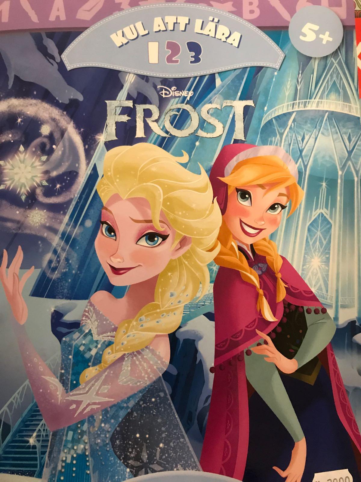 """Kul att lära bok """"Frozen"""""""