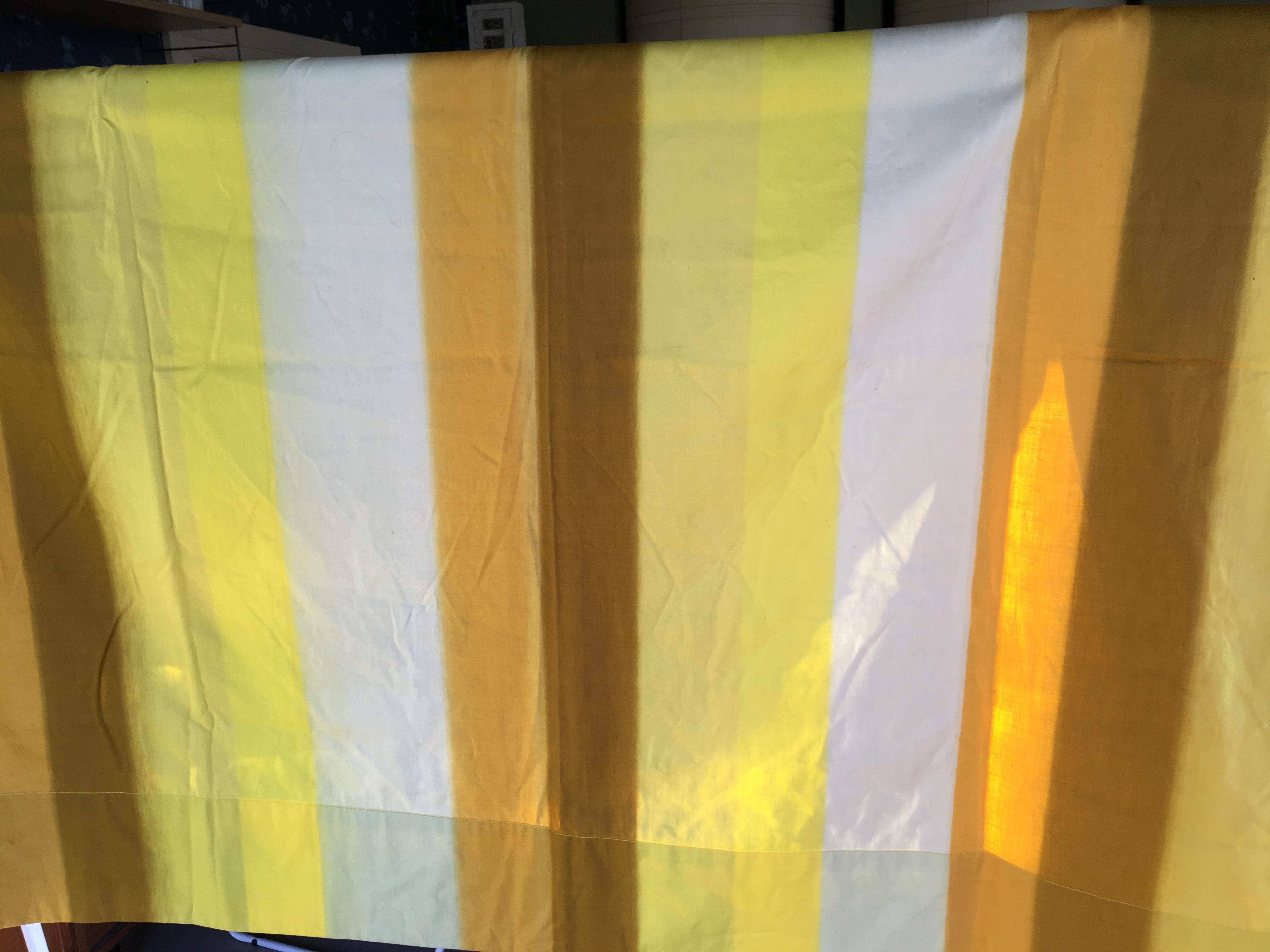 Lapinniemen puuvilla Timo Sarpaneva Ambiente keltainen