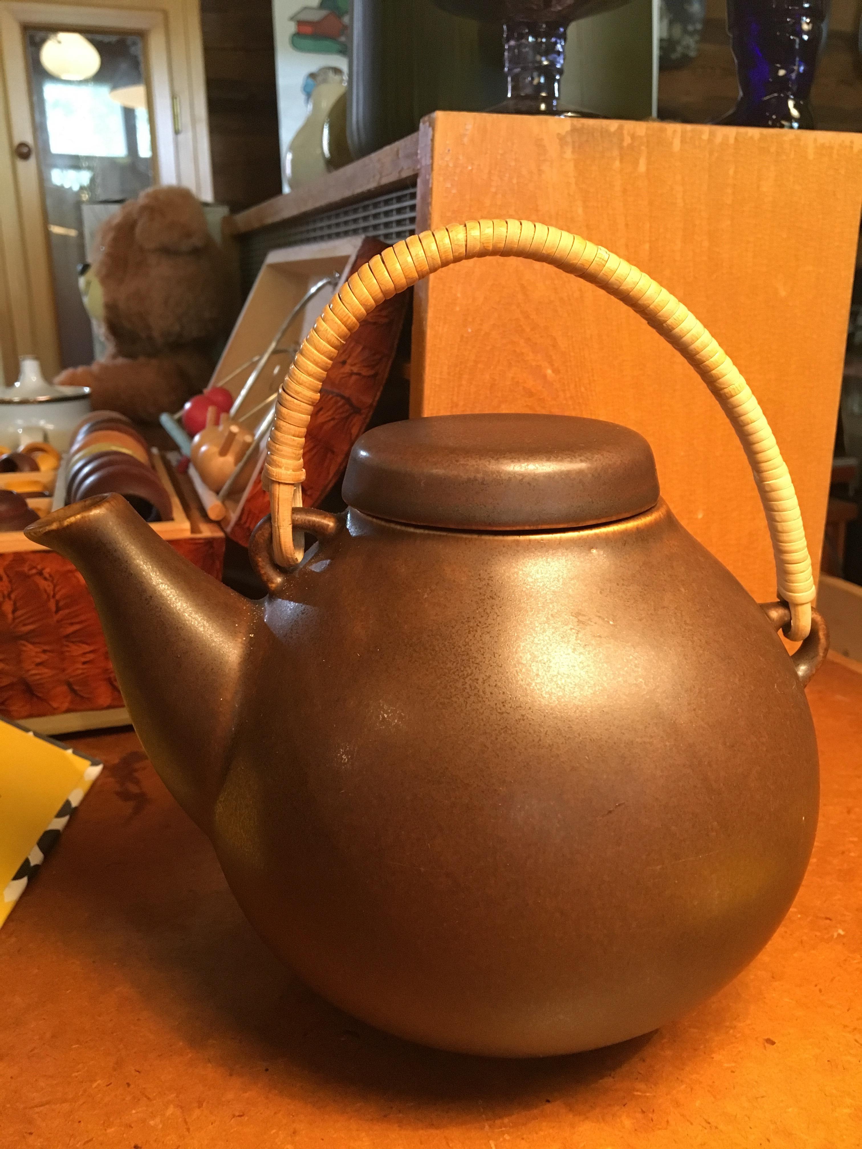 Arabia Ulla Procope teekannu suurempi koko