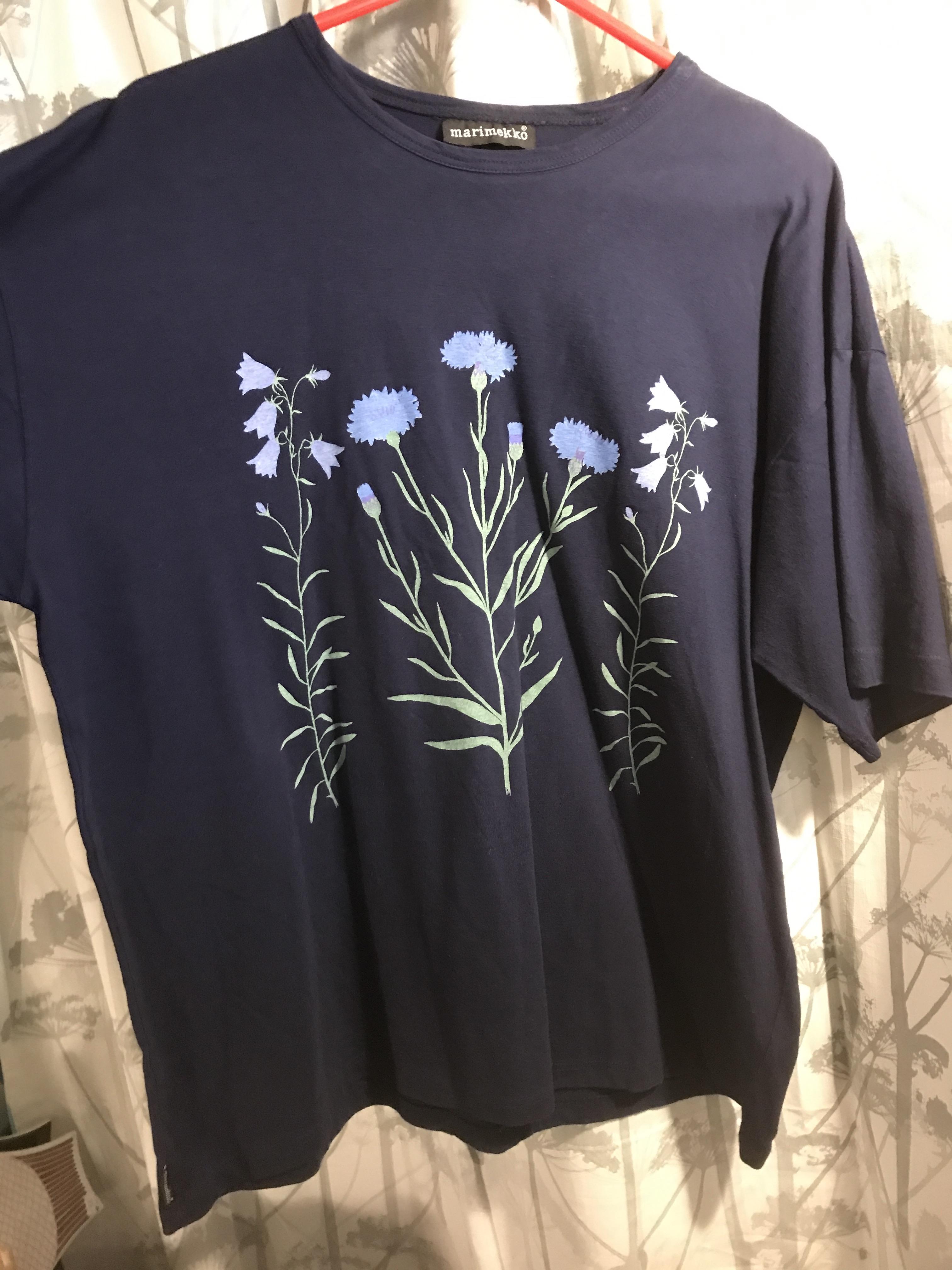 Marimekko ruiskukka t-paita