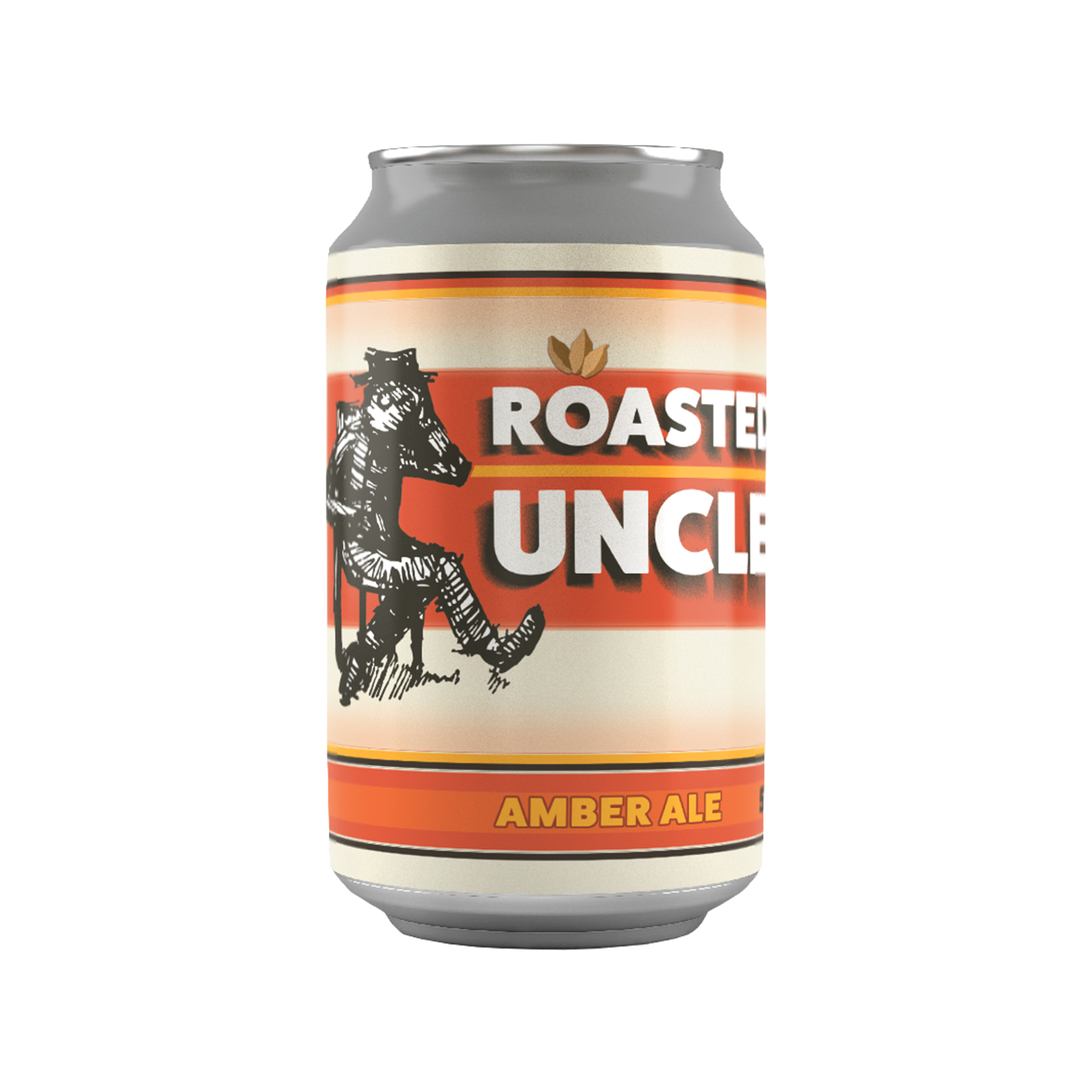 Tired Uncle Roasted Uncle Amber Ale 5.3% - 0.33l Can