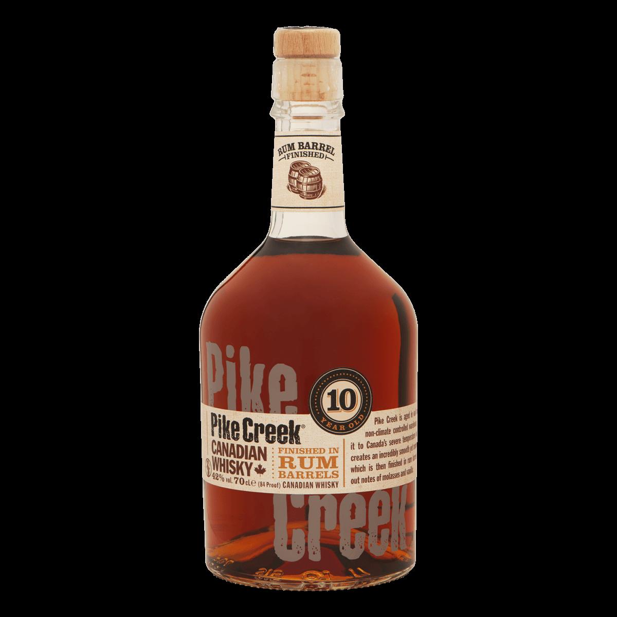 Pike Creek 10yo Rum Barrel 1cl
