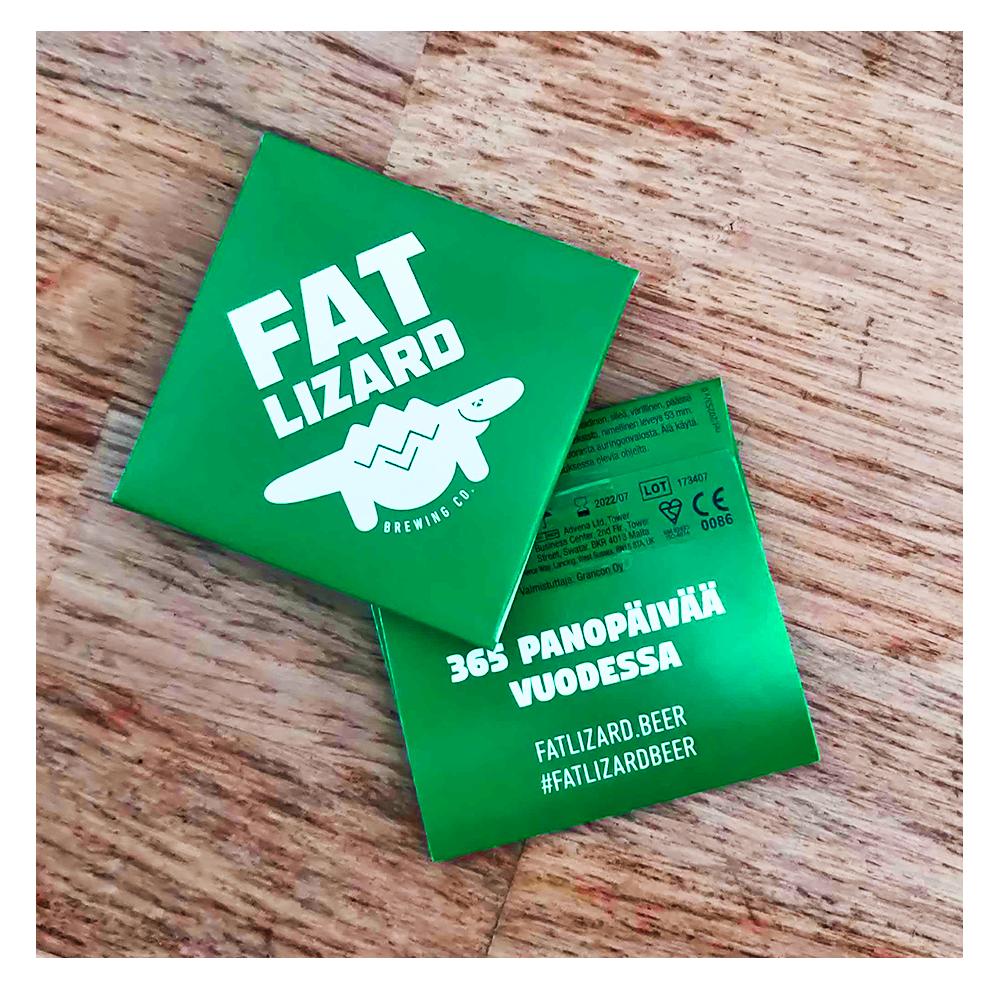 Fat Lizard Condom