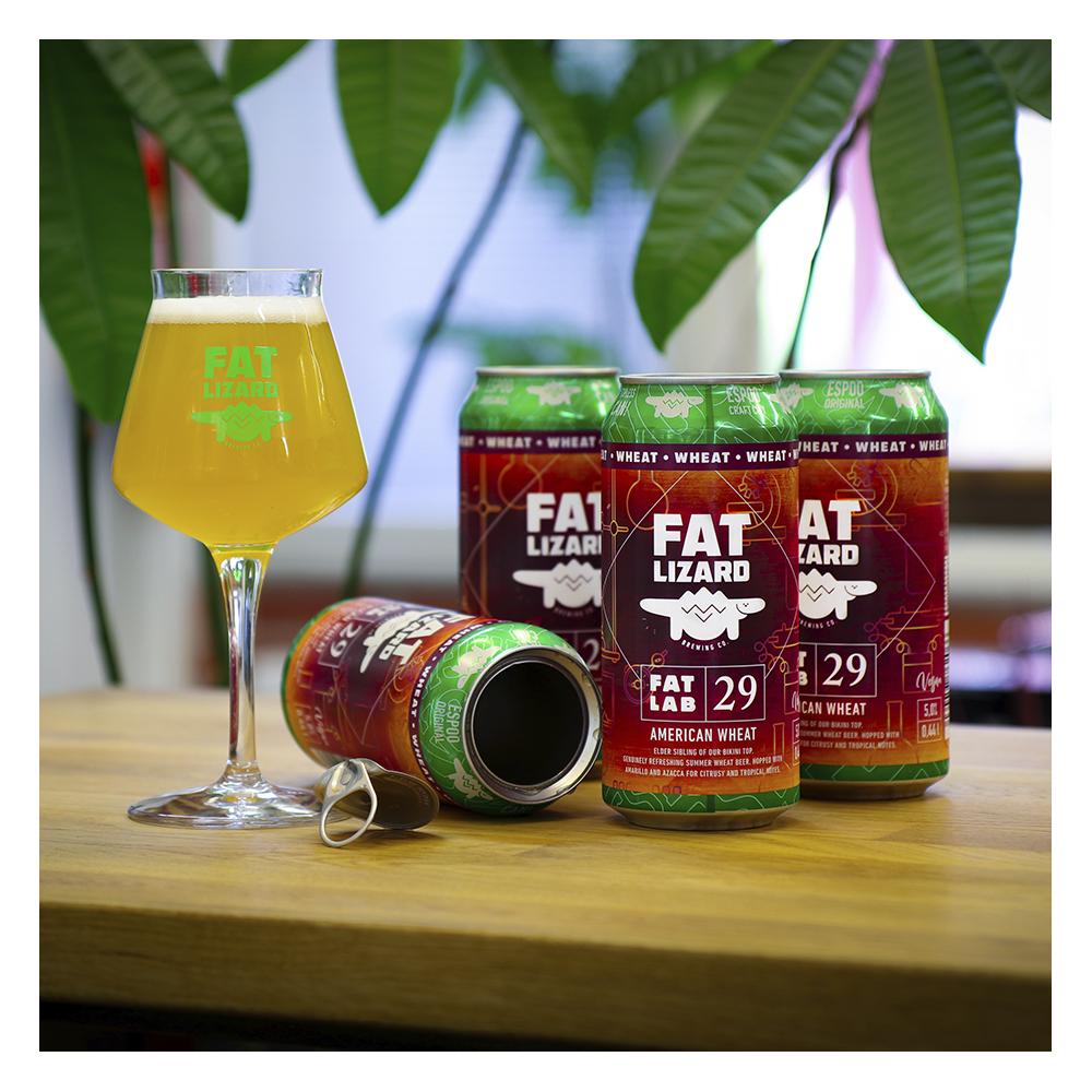 Fat Lab 29: American Wheat 5,0% - 0,44l can