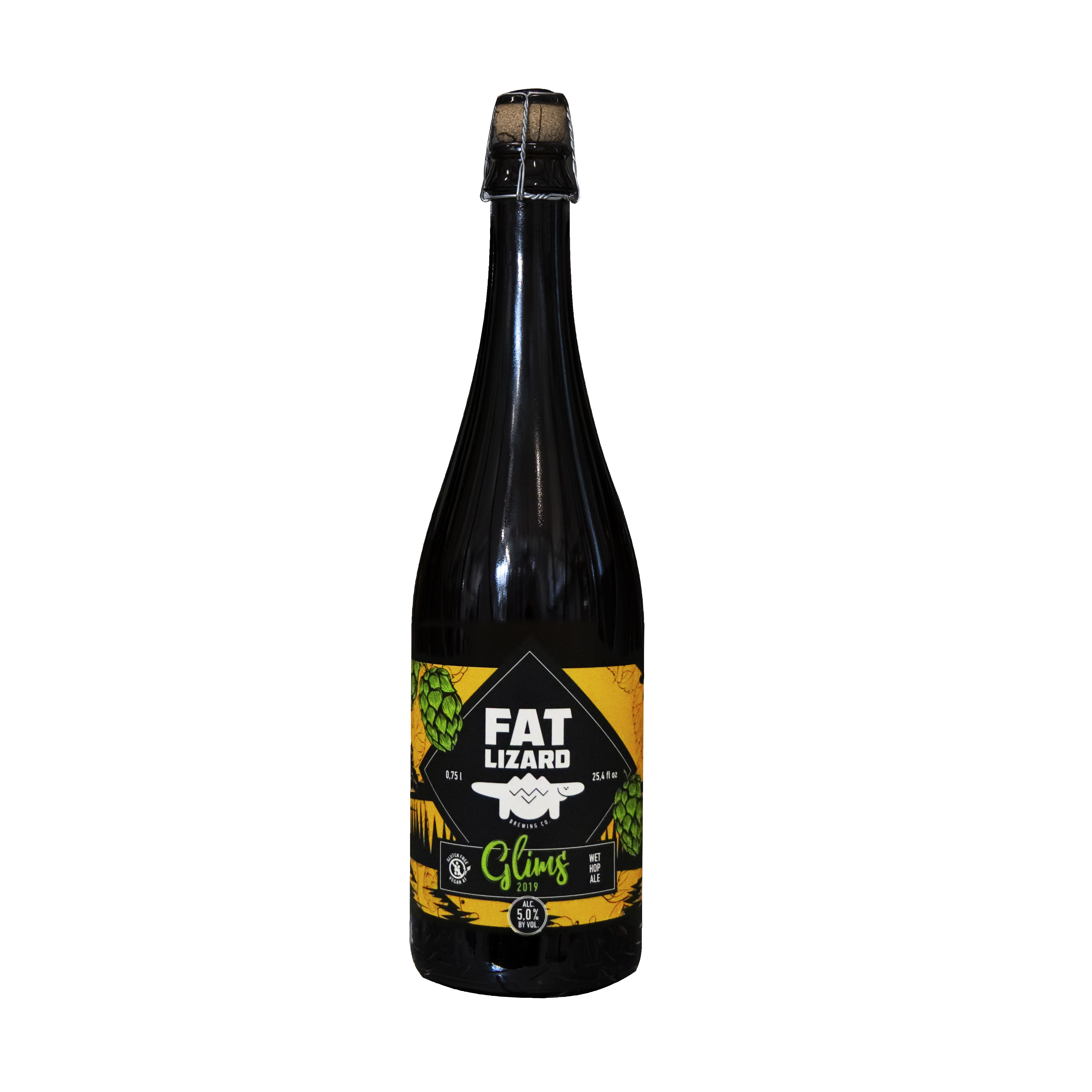 Glims Wet Hop Ale 5,0% (G) - 0,75l bottle