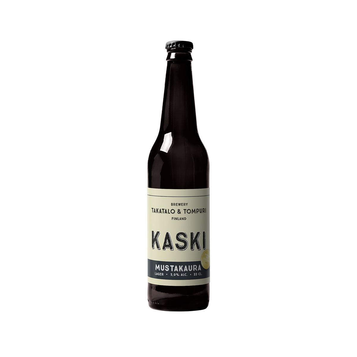Takatalo & Tompuri Kaski Mustakaura 5,0% - 0,33l bottle
