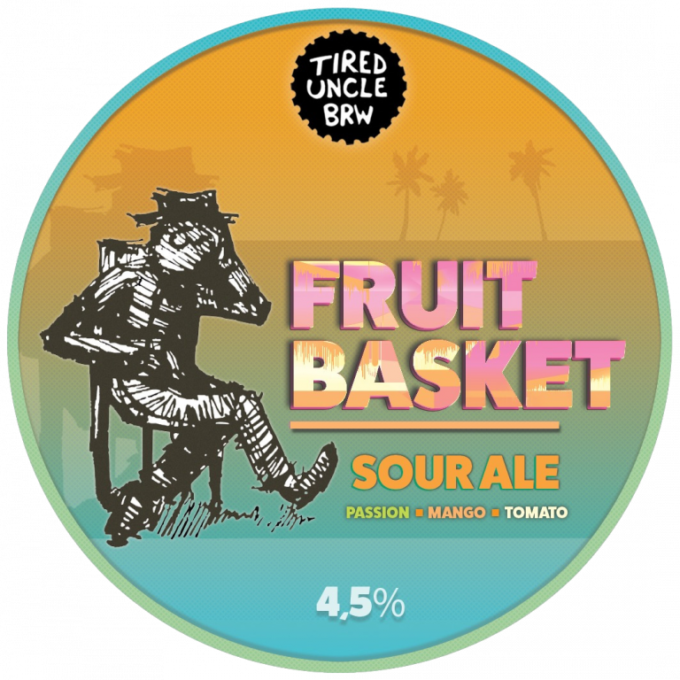 Tired Uncle Fruit Basket 4,3% - 0,33l can