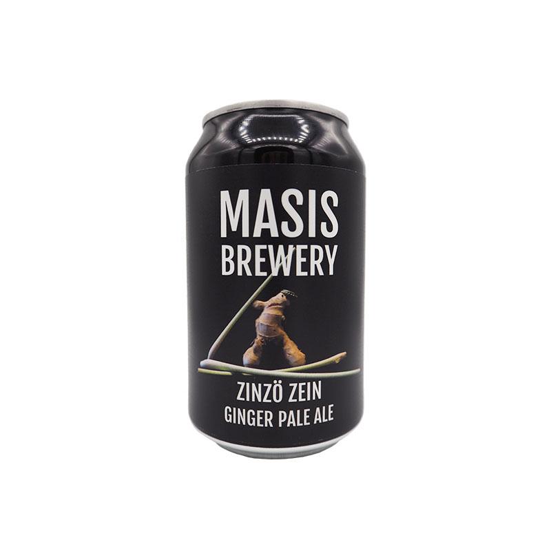Masis ZinzöZein Ginger Beer 5,5% - 0,33l can