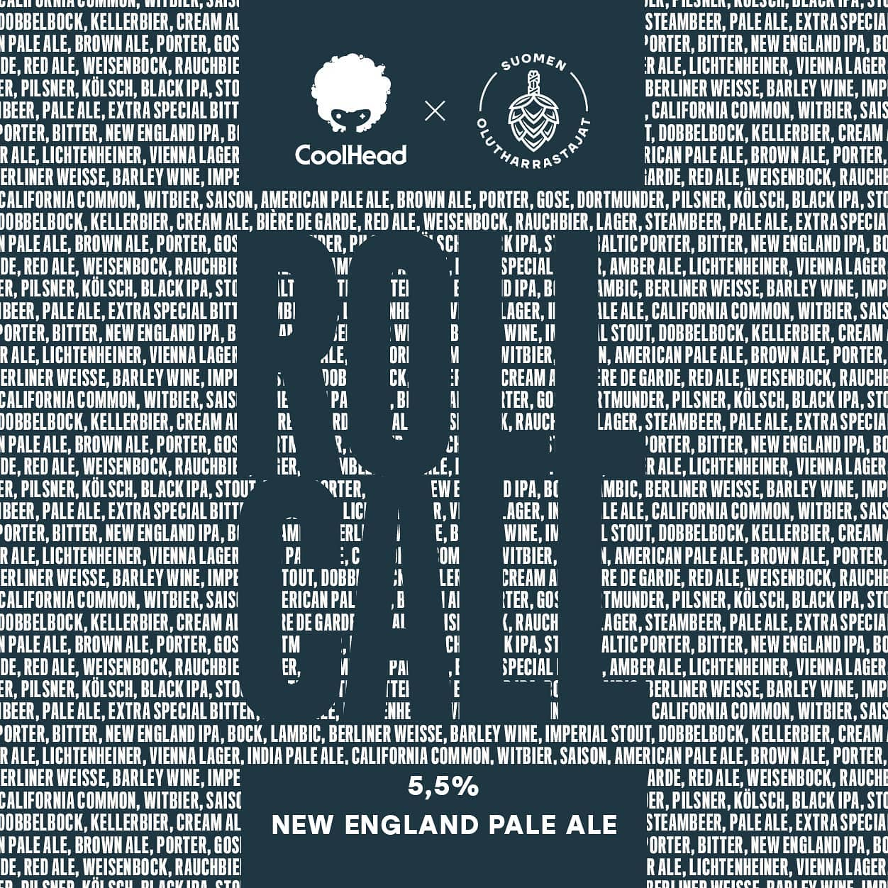 CoolHead Roll Call New England Pale Ale 5,5% - 0,33l can