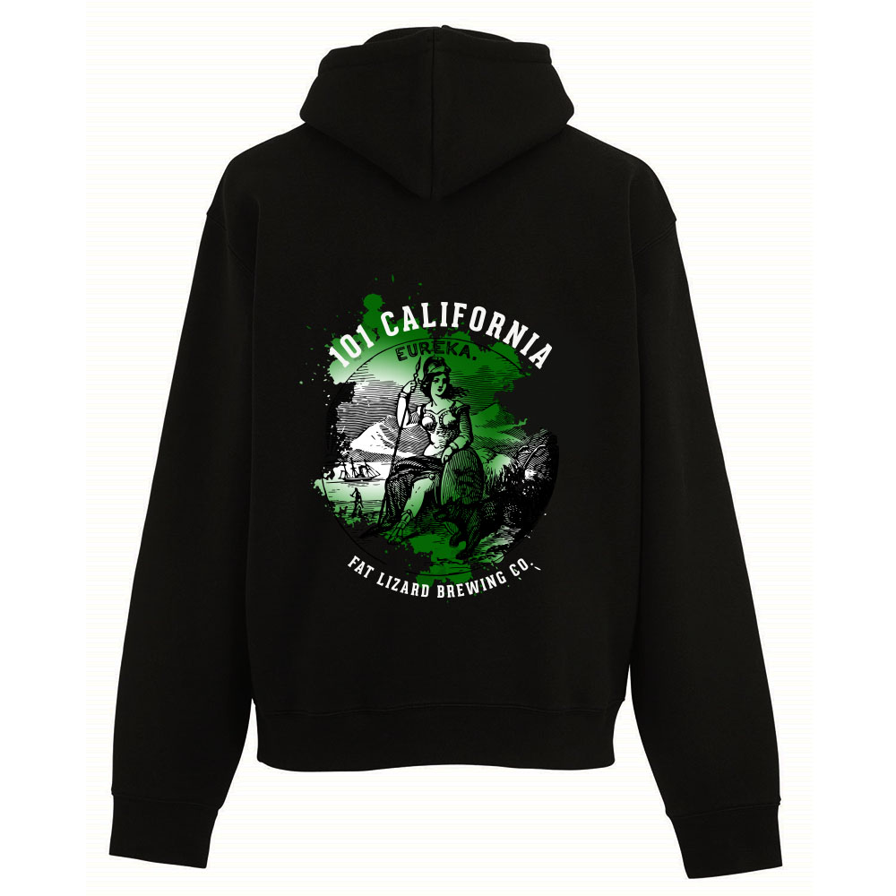Fat Lizard 101 California Zipper Hoodie