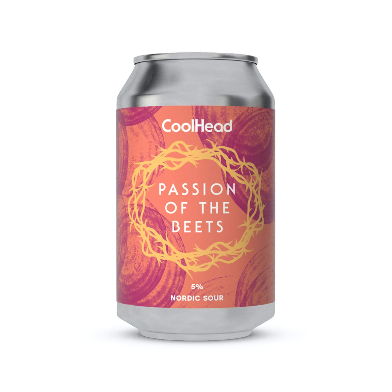 CoolHead Passion of the Beets Nordic Sour 5% - 0,33l can