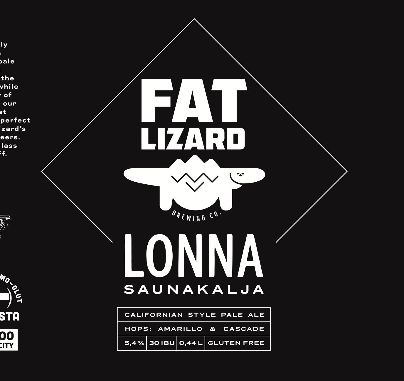 Lonna Saunakalja 5,4% (G) - 0,44l can